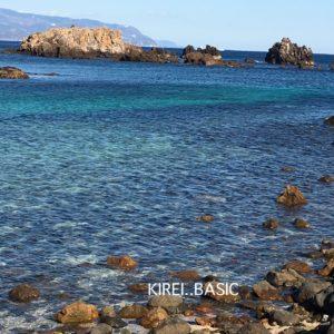 爪木崎の海はきれいすぎる