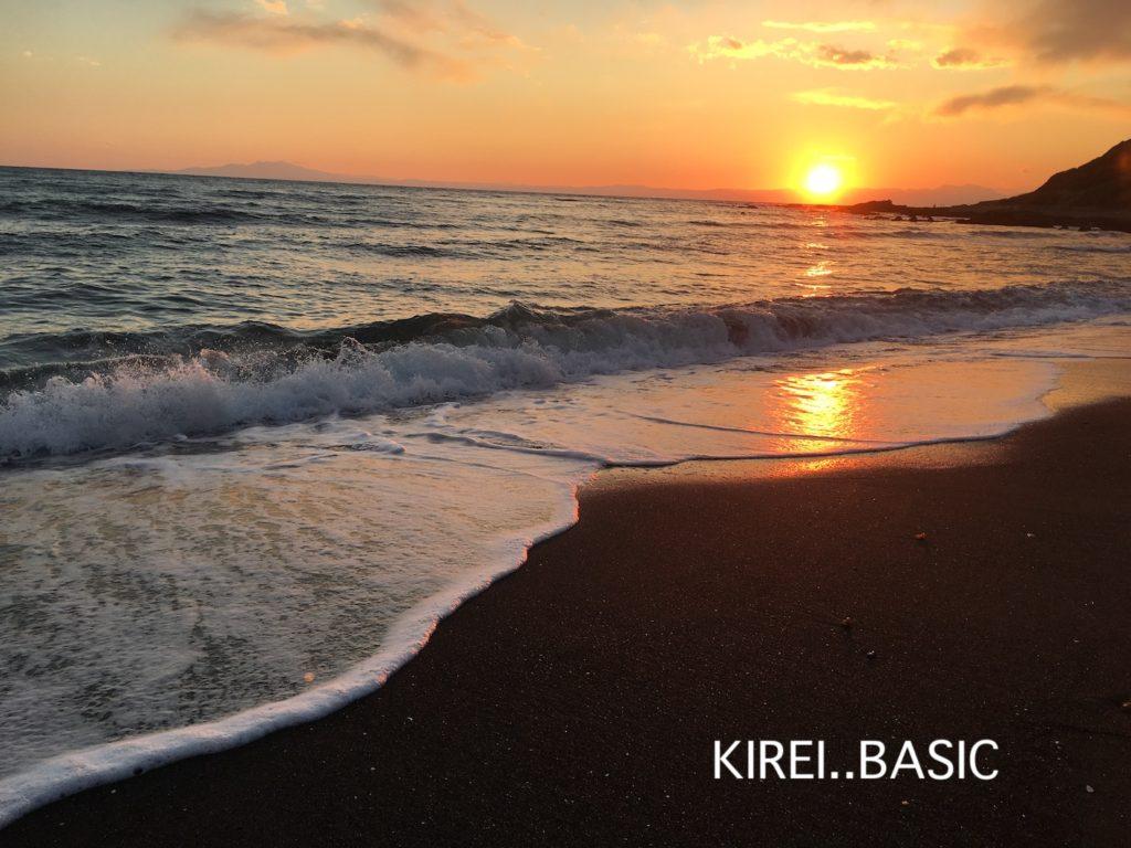 三浦半島の和田長浜海岸の夕暮れは恋に落ちがち