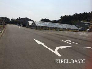 白糸自然公園の駐車場