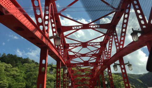 奥多摩湖周辺をドライブすると橋が多くて楽しい