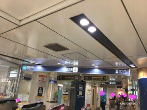 池袋駅メトロポリタン側の地下鉄入口