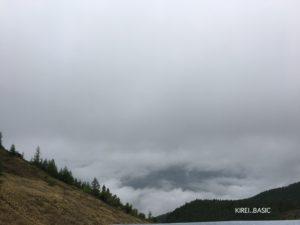 美ヶ原は霧だらけでした