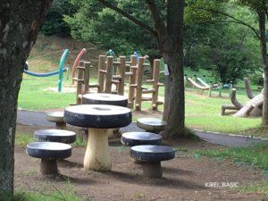 アルプス公園の遊具