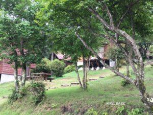 なんもく村自然公園キャンプ場のバンガロー