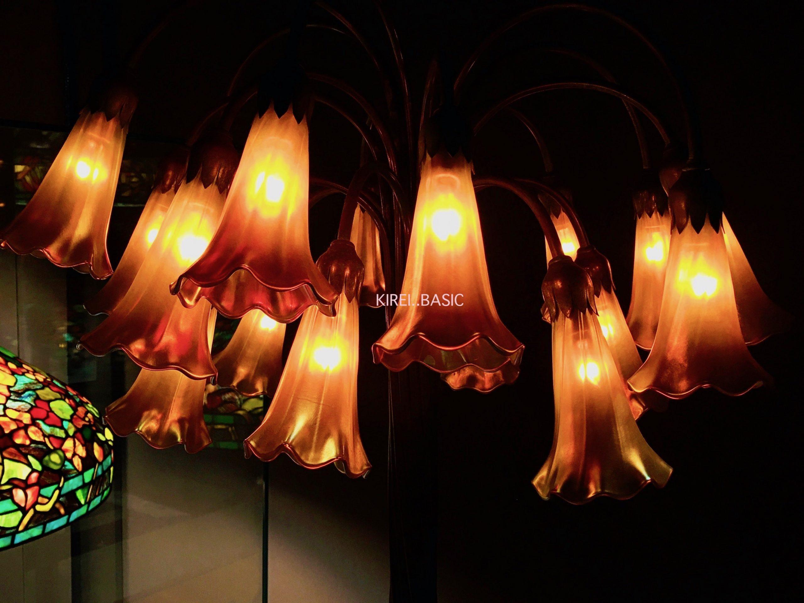 百合のランプ