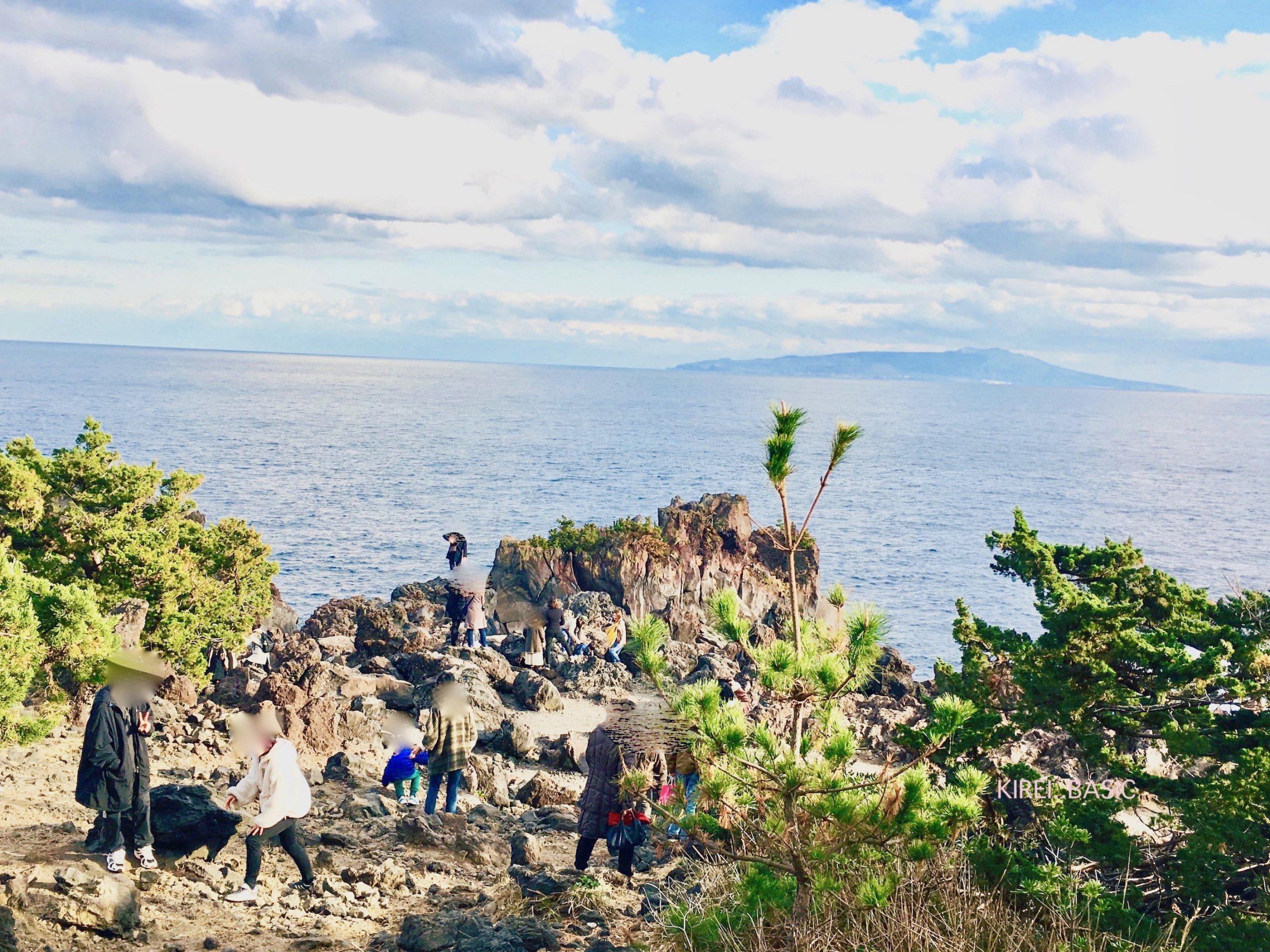 城ヶ崎の海